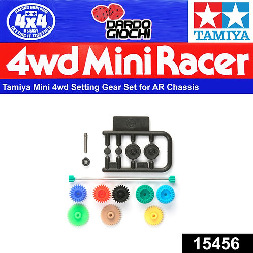 Setting Gear Set ( for AR Chassis ) ITEM 15456