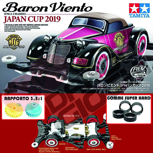 BARON VIENTO JAPAN CUP 2019 (FM-A Chassis) ITEM 95120