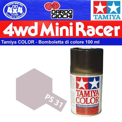Tamiya PS-31 PS31 Colore spray Smoke 100ml per policarbonato