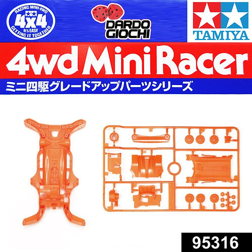 AR Fluorescent-Color Chassis Set ( Orange ) ITEM 95316