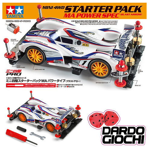 Starter Pack MA Power Spec Blast Arrow ITEM 18647