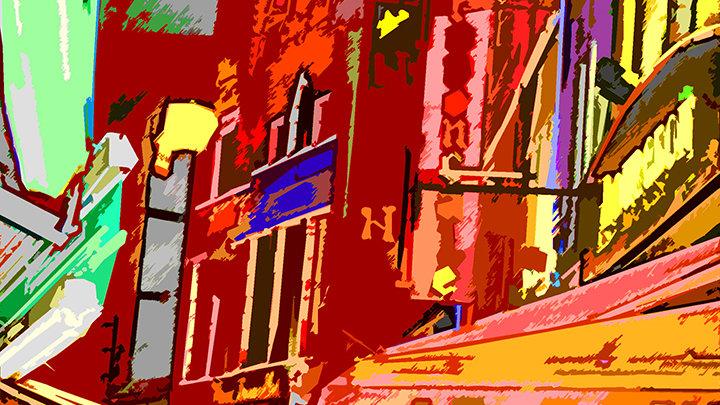 Fritz (Steven) Weiss - Brussels Restaurant Row #24