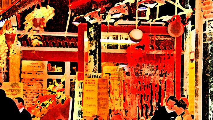 Fritz (Steven) Weiss - Brussels Restaurant Row #30