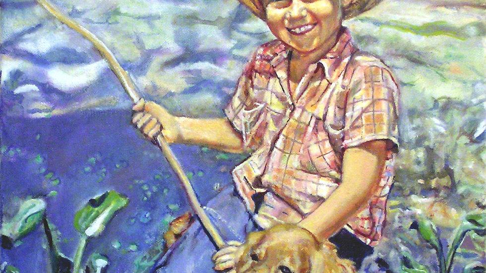 David Vigon - Fishing Lad