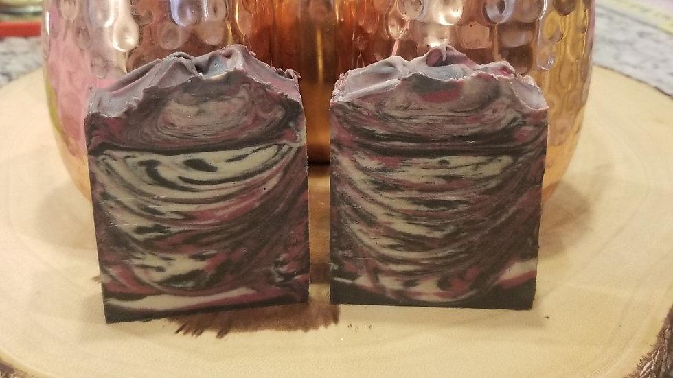 Vader's Black Currant Absinthe goat milk soap for Men