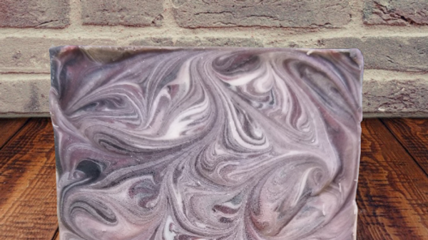 Emilee's Black Raspberry Berry Bliss goat milk soap