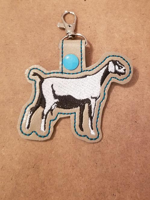 Mini Nubian Key chain , Purse or Book Bag clip