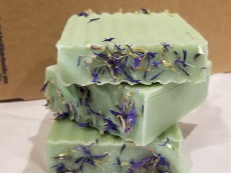We have goat milk soap for sale in Mt. Pleasant, NC