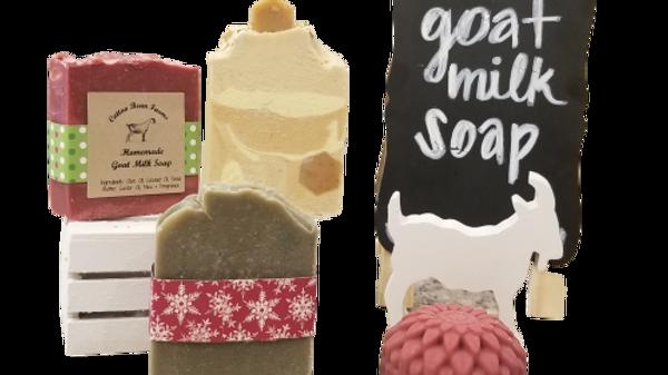 Custom made goat milk soap wedding favors available