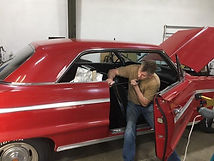 belair chevy door ding repair CO MT.jpg