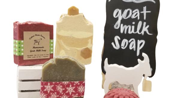 Ella's Christmas Magic goat milk soap