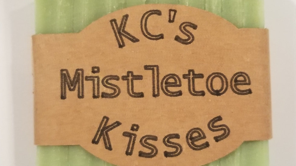 KC's Mistletoe Kisses goat milk soap