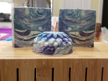Love Spell goat milk soap design reveal!
