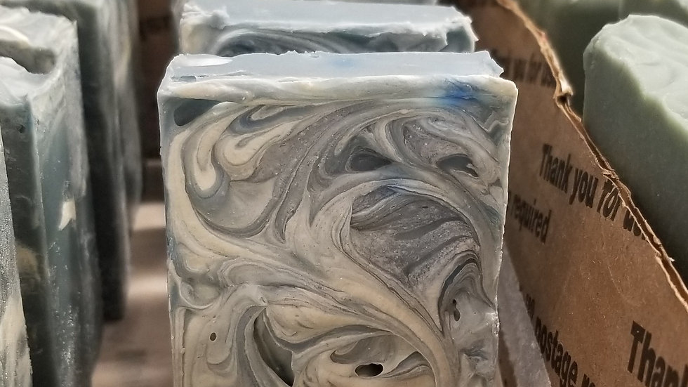 KC's Mistletoe Kisses goat milk soap