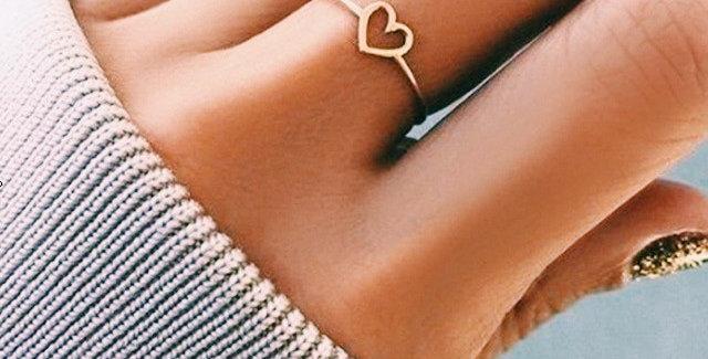 The Tiny Heart Ring