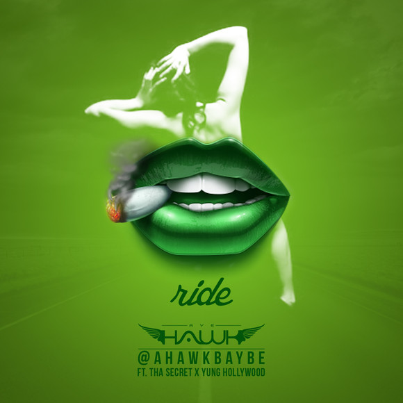"New Music: ""The Ride"" - @AHawkBaybe X Yung Hollywood X ThaSecret"