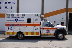 Medic 513- 2015 Ford F450/Lifeline T