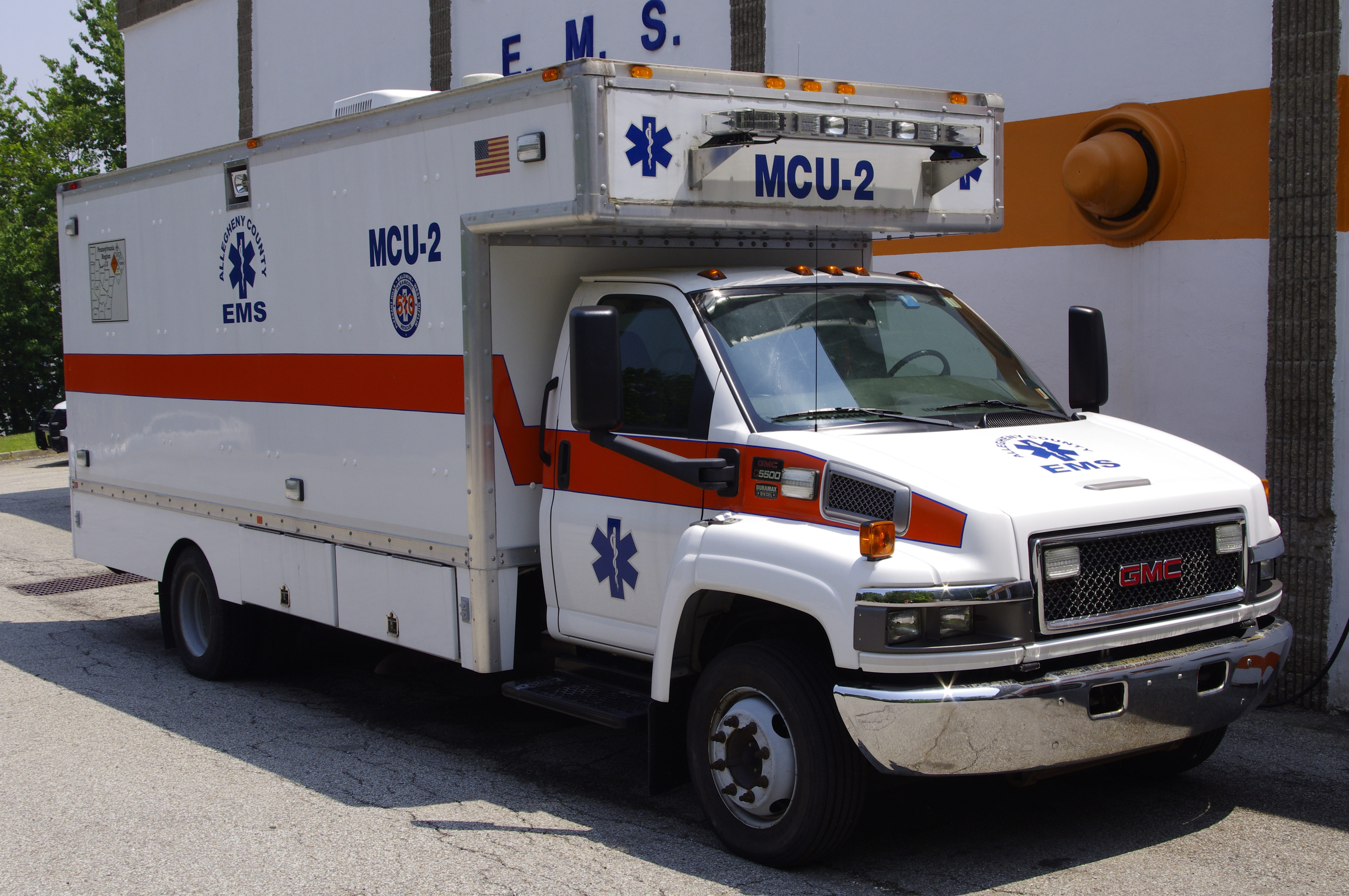 MCU2- 2007 GMC 5500 Box truck
