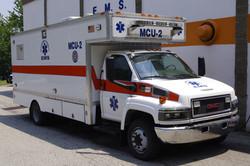 MCU2- 2007 GMC 5500 Box truck