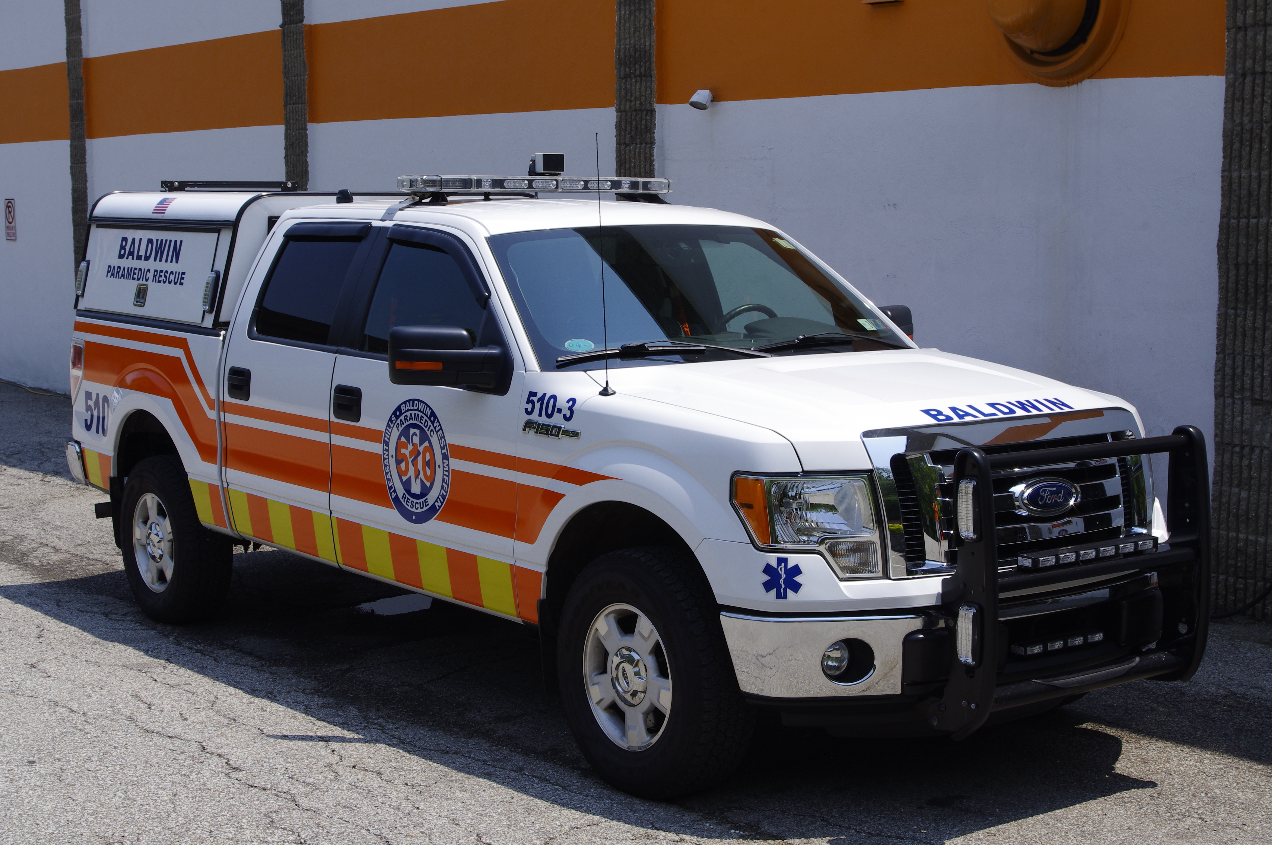 Squad 510-3 -2012 Ford F150 Pickup