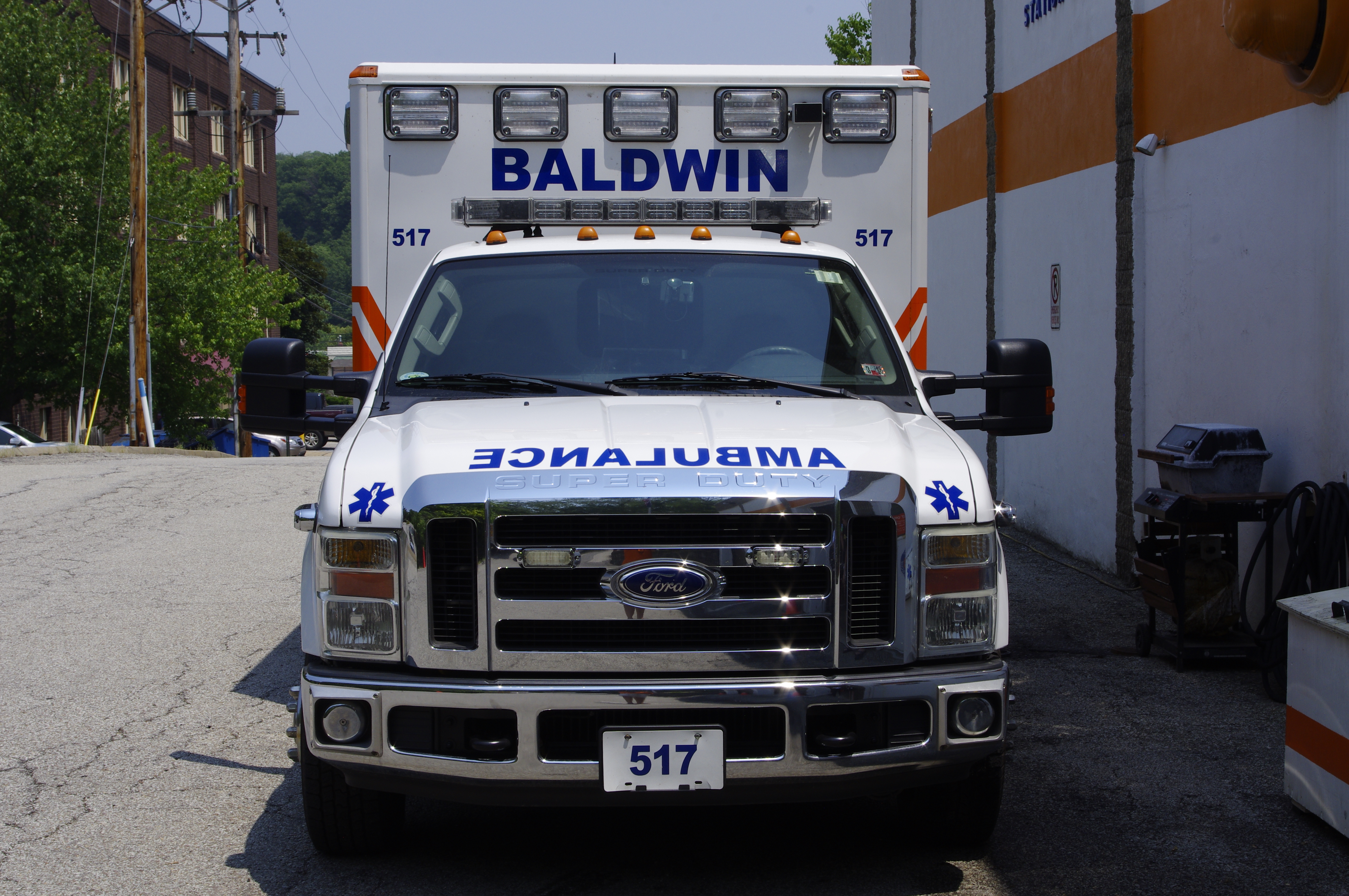 Medic 517- 2008 Ford F350/Wheeled Co