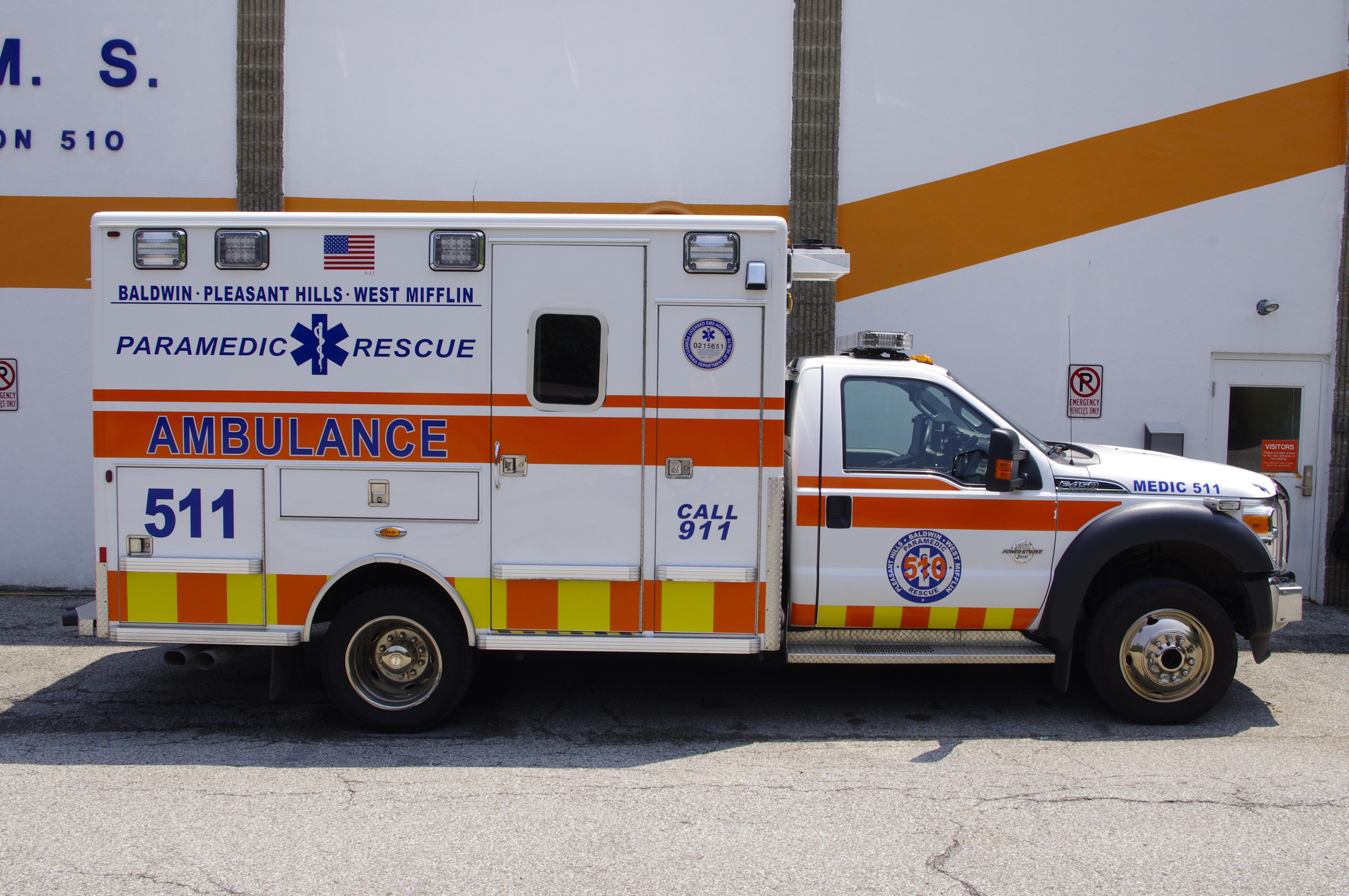 Medic 511- 2013 Ford F450/Lifeline T
