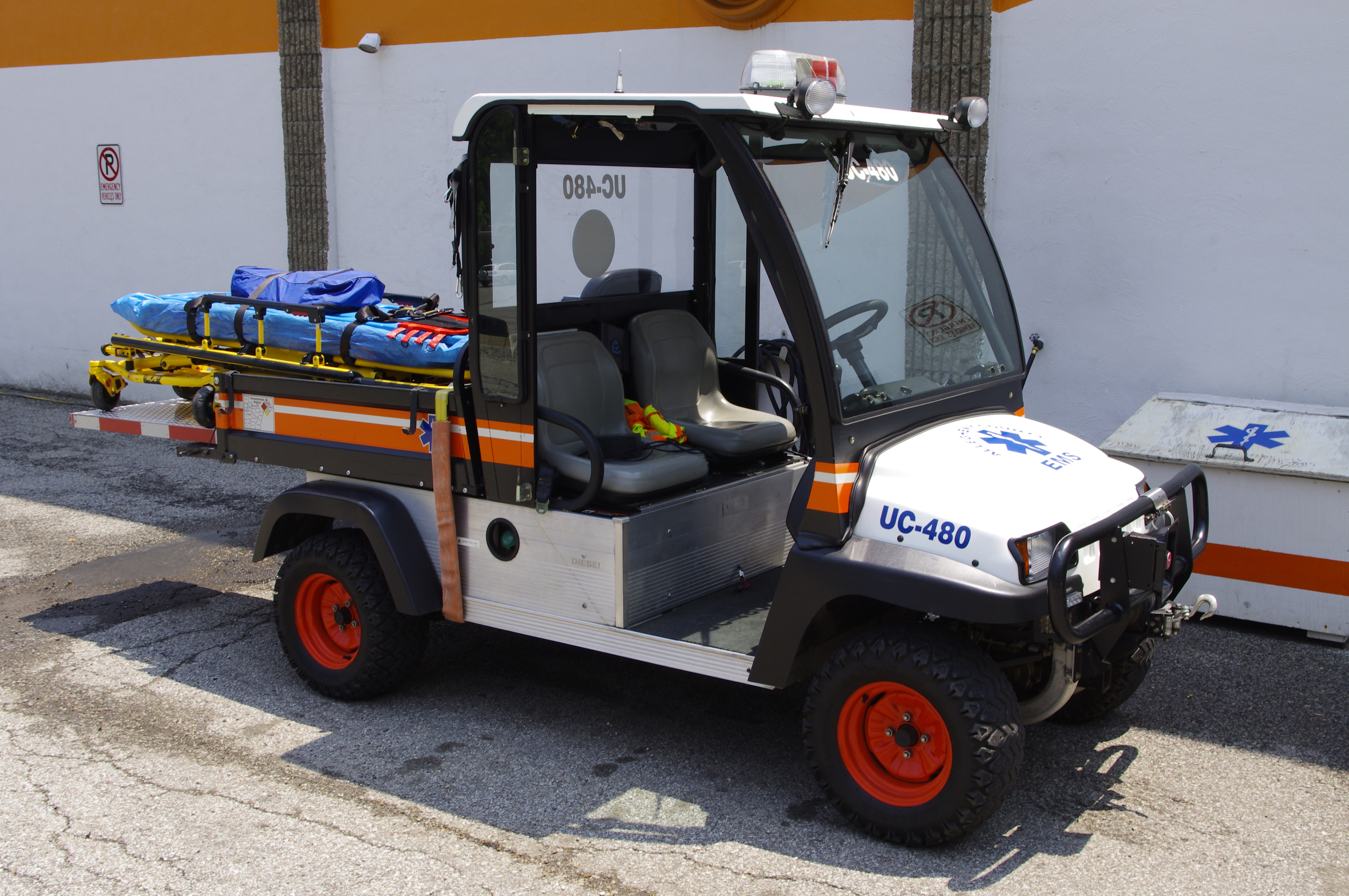 UC480- Bobcat utility vehicle