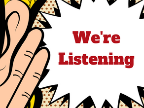 Listening to our Customer's Voices