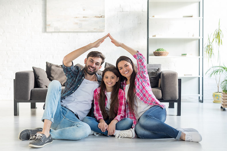 Health and Safety Compliance Family making a home
