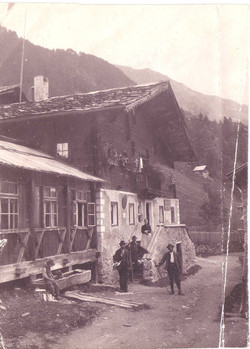Gästehaus Post um 1850