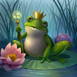 Frog Prince_Paint