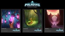 Paladins Card Art | Paladins | HiRez Studios