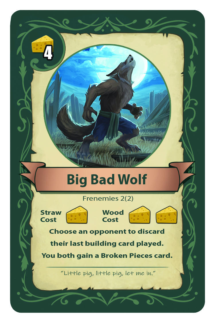 Big Bad Wolf Card