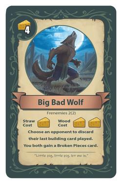 Big Bad Wolf Card