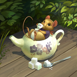 Dormouse_Painted