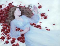 Bed of Winter Roses | April Borchelt