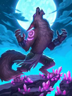 Werewolf | Hearthstone Fan Art | April Borchelt