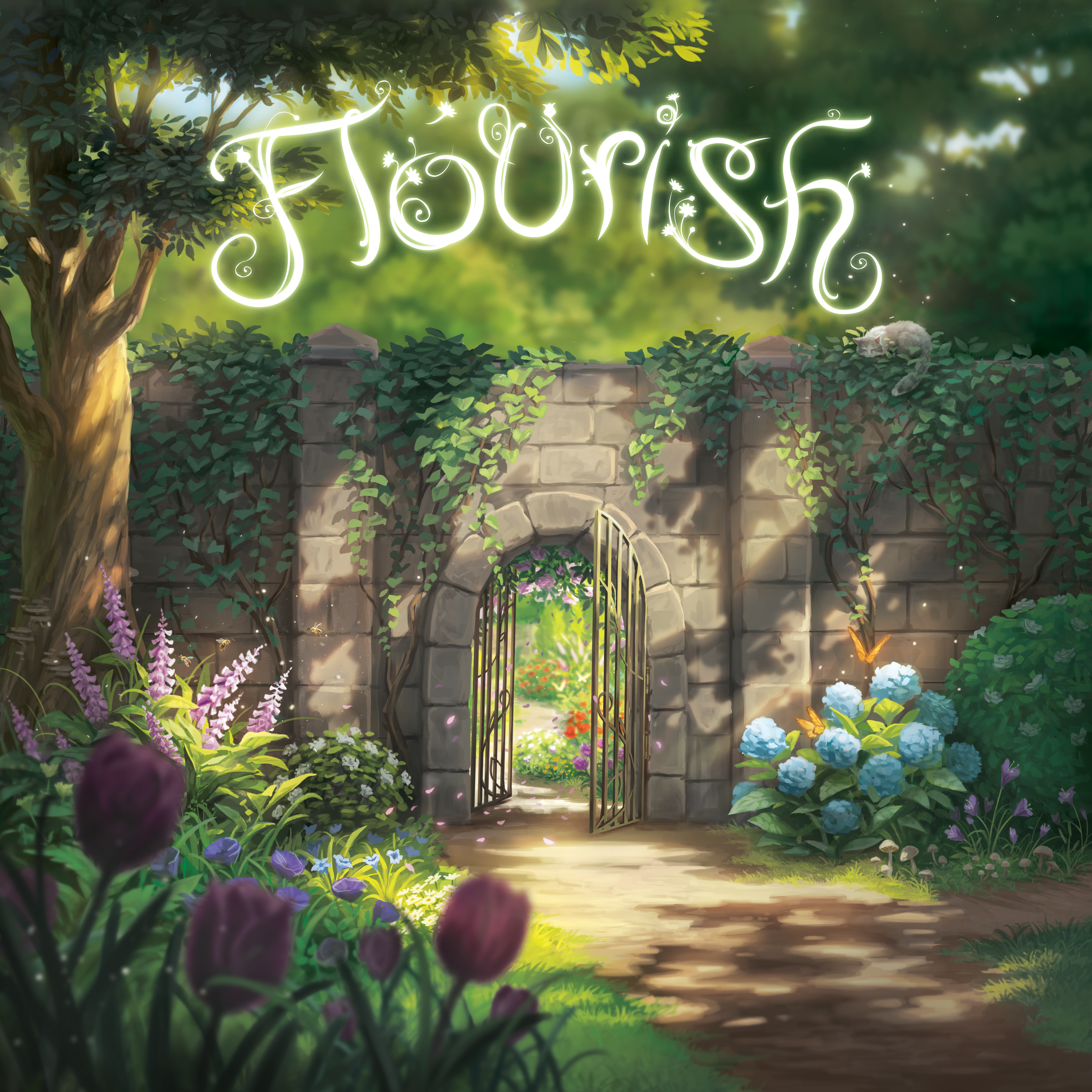 Board Game Cover Art | Flourish | Starling Games