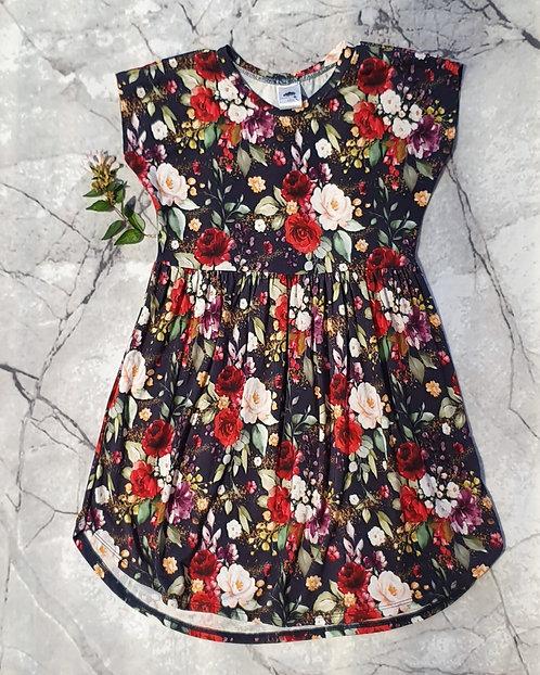Bamboo Short Sleeve Dress