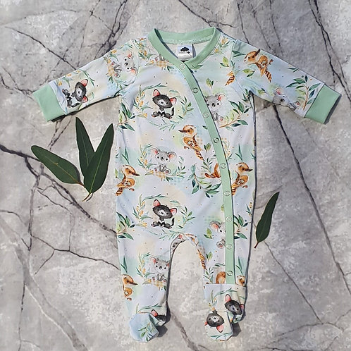 Bamboo Footie Coverall