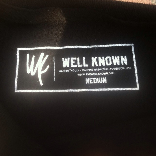 Our First Label Printed
