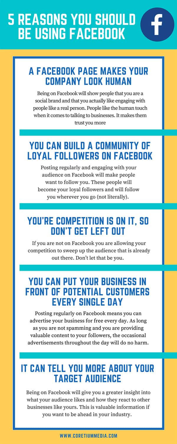5 Reasons You Should be Using Facebook