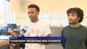 CodeCrew Code School Recruiting New Students