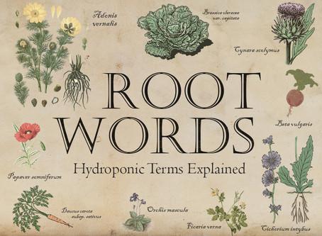 Hydroponic Terminology