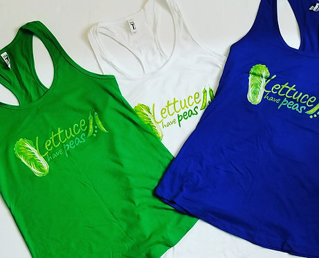 "Tank Tops ""Lettuce Have Peas"""
