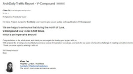 ArchDaily Report - V-Compound