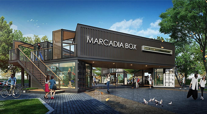 MARCADIA KL  CONTAINER MALL