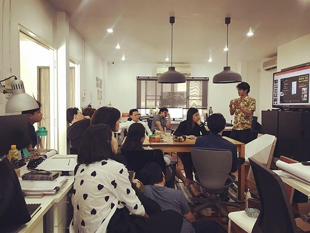 a weekly architectural debating / materi