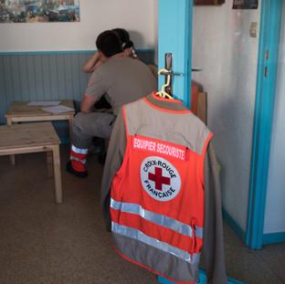 Bénévole à la Croix Rouge