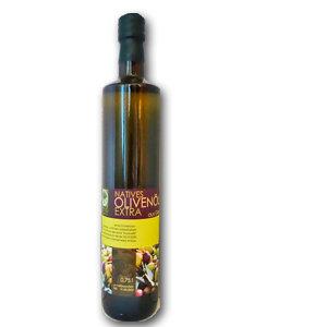 Olivenöl extra nativ aus chemiefreiem Anbau,  ab 4  Kartons zu 12 Flaschen